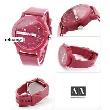 ARMANI EXCHANGE LADIE'S SPORT RUBBER PINK WATCH AX1231