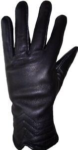 Women Motorcycle Winter Gloves Leather Motorbike Rider Touring Biker Warm Gloves