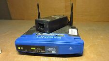 Linksys WRT54GL WLAN Router AccessPoint ROUTER 54 Mbps +100 Mbps + PSU & ANTENNA