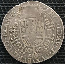 PAYS BAS PHILIPPE IV PATAGON 1652 ARGENT