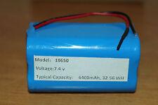 7.4V 4* 18650 4400mAh 2S2P Lithium ion Li-ion Battery Pack 68 x 38 x 38 mm