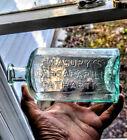 CT Barn Find Masury's Sarsaparilla Cathartic Open Pontil antique medicine bottle