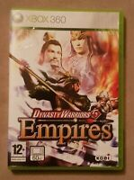 xBox 360 game - Dynasty Warriors 5 Empires + Instructions