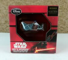 Disney Store Star Wars The Force Awakens REY'S SPEEDER 4GB USB FLASH DRIVE