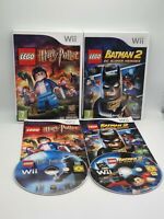 Lego Batman 2 DC Super Heroes and Lego Harry Potter Years 5 - 7 Nintendo Wii