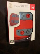 Nintendo Switch Joy-Con Silicone Action Pack Grip Red Gray