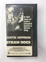 Straw Dogs VHS rare Magnetic Video Horror Dustin Hoffman Original Release