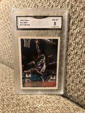 Ray Allen Rookie 1996 Topps Graded 8 Milwaukee Bucks