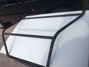 Triumph TR4 Trunk Lid Reinforcement