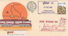Stamp Australia Tarcoola PSE 1988 AUS. STEAM 88 carried cachet overprint