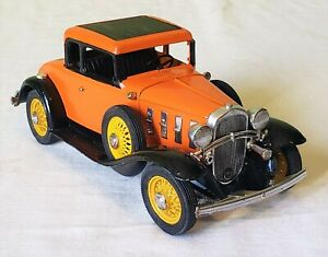Early Hubley Toys DieCast 1932 CHEVROLET ROADSTER CAR V RARE 50's NMINT
