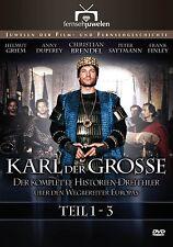 Karl der Große - Der komplette Historien-Dreiteiler, 2 DVD Set NEU + OVP!