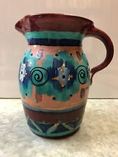 Marahall Pottery Pitcher By Tommy Humphries Painted By Beth Sartin