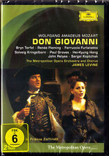 2.DVD MOZART: DON GIOVANNI Bryn TERFEL Renee FLEMING FURLANETTO GROVES LEVINE