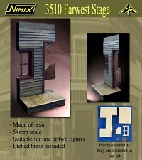 NIMIX MINIATURAS 3510 - FARWEST SALOON 54mm RESIN KIT