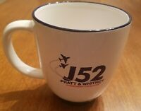 Pratt & Whitney (P&W) J52 Coffee Mug,  Clean and glossy..
