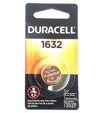 1 New Duracell CR1632 Lithium Coin Battery 3V DL1632 Exp 2026- USA Seller