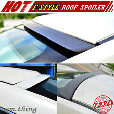 Unpainted FOR Nissan Skyline V35 4DR Rear Window Visor Roof Spoiler 06 F Style
