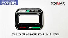 VINTAGE GLASS CASIO F-15 GREEN NOS