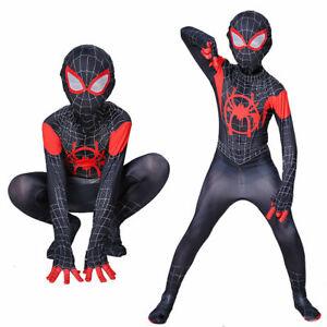Spiderman Venom Deadpool Cosplay Kostüm Kinder Erwachsene Herren Anzug Set DE