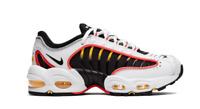 Nike Air Max Tailwind IV GS BG White/Black/Crimson Trainers Sportswear Size 5Y