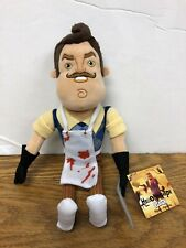 Hello Neighbor Plush From The Video Game with Apron Cleaver 10-Inch Plush A1