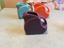 fiesta mulberry mini disk pitcher
