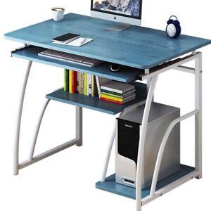 Computer Table Desktop Computer Desk With Keyboard Bracket Study Desk Furniture