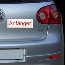 Magnetschild Anfänger Auto Aufkleber Fahranfänger KFZ PKW Schild magnetisch 21cm