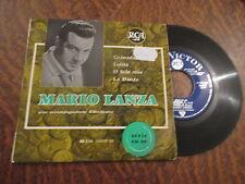 45 tours mario lanza avec accompagnement d'orchestre serie en or granada