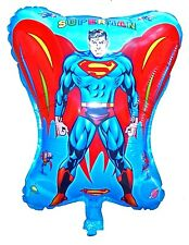 SUPERMAN 46cm Large Helium Quality Balloon Birthday Party Superhero