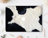 Cow Skin Macbook Pro 13 15 2018 Top Bottom Printed Case Animal Macbook 11 Air 13
