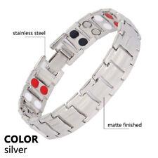Unisex Therapeutic Energy Healing Bracelet Magnetic Bracelet Health Care Relief