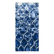 "Abyss BLUE GEM Bath Mat Rug 27"" x 55""  Color Cadet Blue Multi NWT ~ LAST ONE!"