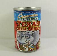 Vintage Texas Chili Beans Republican 2004 Presidential Souvenir Elephant Vietti