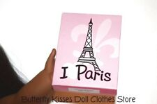 Mini Love Paris Puzzle Games 18 in Doll Clothes Accessory Fits American Girl