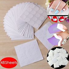 48 Sheet Designs Nail Art Stickers French Tip Manicure Guides Stencil Fringe DIY