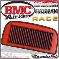 FILTRO DE AIRE RACE RACING BMC LAVABLE FM302/04 YAMAHA YZF1000 R1 2002