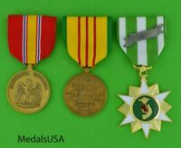 VIETNAM WAR U.S. SERVICE MEDALS US ARMY NAVY AIR FORCE MARINES 3 full size  T1