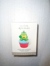 2016 - Hallmark Keepsake Cupcake Ornament - Lucky Leap-Rechaun - New - Monthly