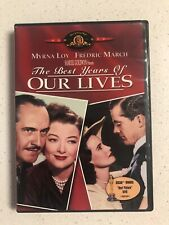 The Best Years of Our Lives (Dvd, 2000) Released 1946. Dir. William Wyler