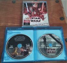 Star Wars The Last Jedi Blu-ray w/Slipcover FREE SHIPPING Multi-Screen Edition