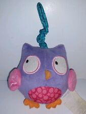 Babies R Us Crib Hanging Toy Infant Stroller Car Seat Pull Toy Plush Rattle Owl