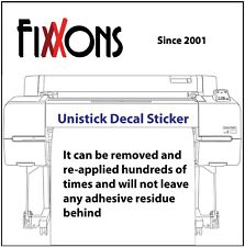 "Decal Sticker  FX500 Block Out Matte - for Aqueous Inks  24"" x 50'"