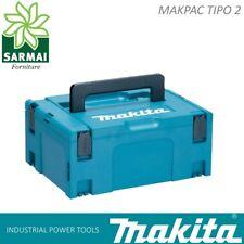 MAKITA MAKPAC TIPO 2 Valigetta cassetta porta utensili sovrapponibile 39x29x16cm