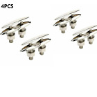 """4PCS 6-1/2"""" Boat Pop Up Cleat Flush Mount Stainless Steel Boat Marine Chocks"""
