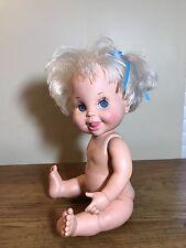 1990  Galoob Baby Face Doll So Curious Cara #21 Bathtub Baby