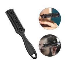 DIY Double Sided Razor Comb Hair Trimmer Hair Cut Hair Styling