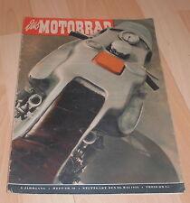 dachbodenfund zeitschrift das motorrad  heft 10 berichte motor sport 1953 alt