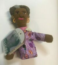 Maya Angelou Plush Finger Puppet Magnet Unemployed Magnetic Personalities NWT